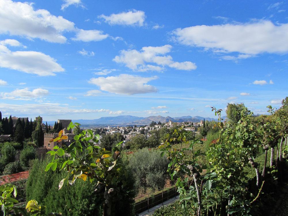 View of Granada, Spain.