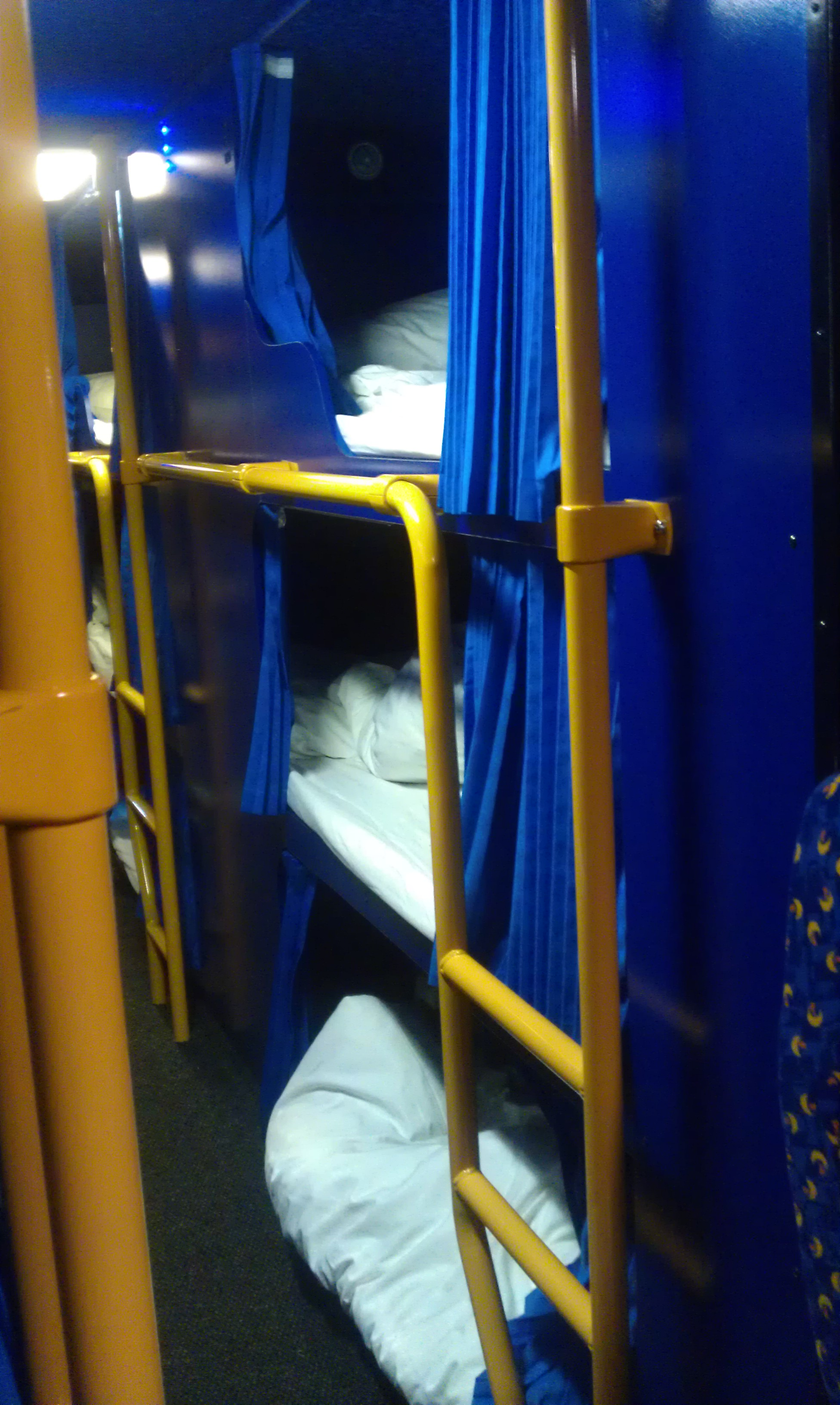 A Bed On A Bus Megabus Sleeper Service Review Runaway Jane