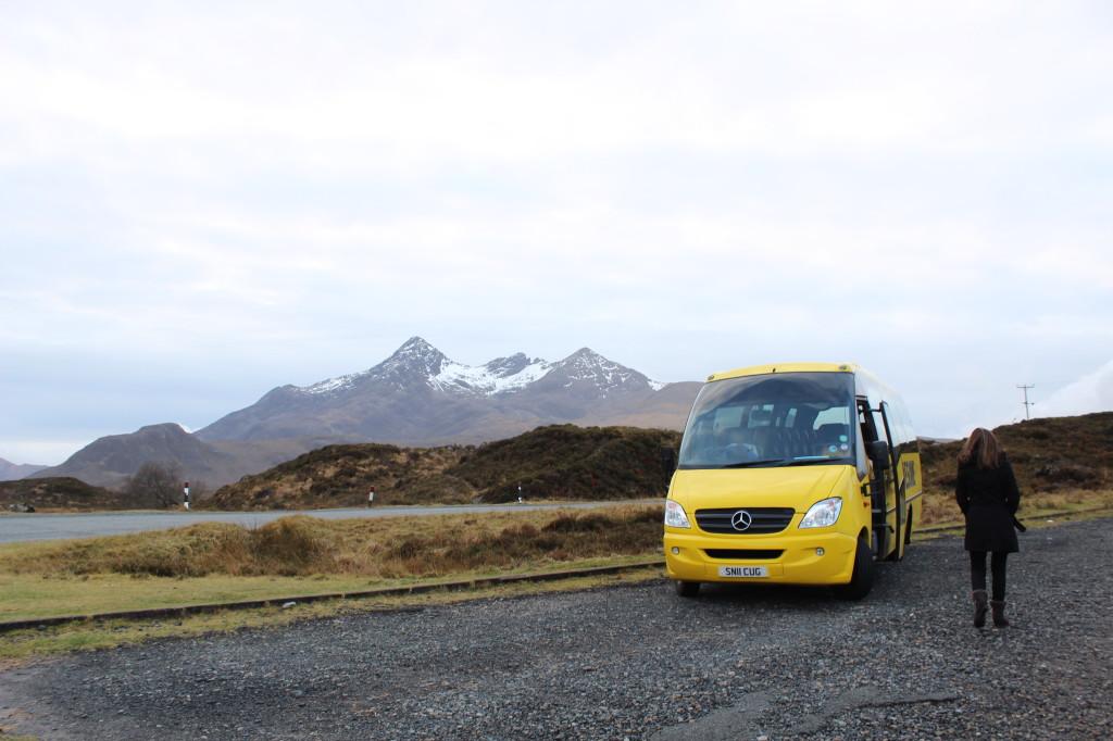 Haggis Adventures Bus Isle of Skye