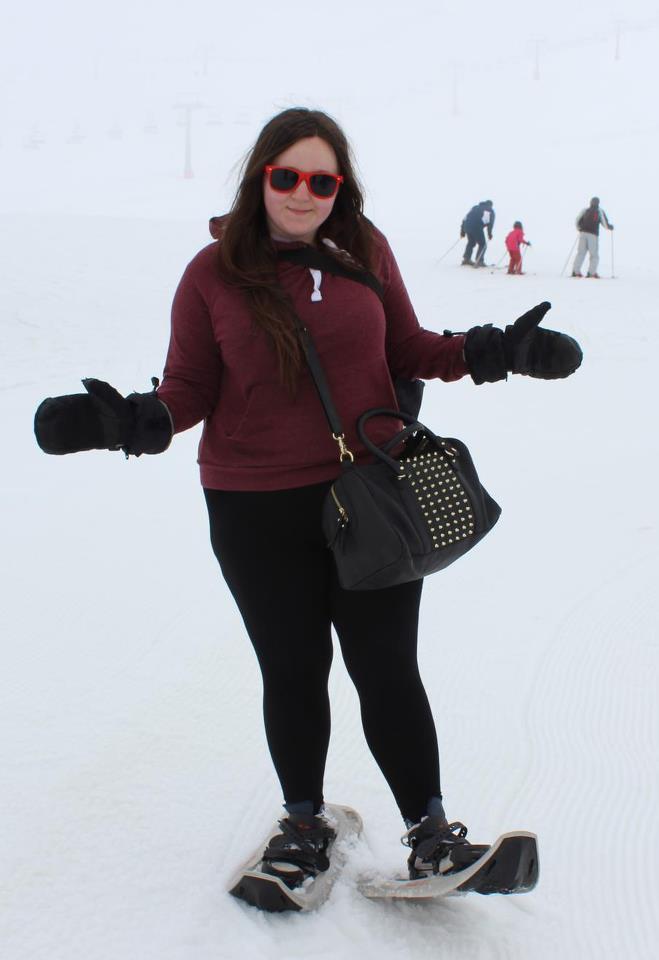my bitchin snow shoes