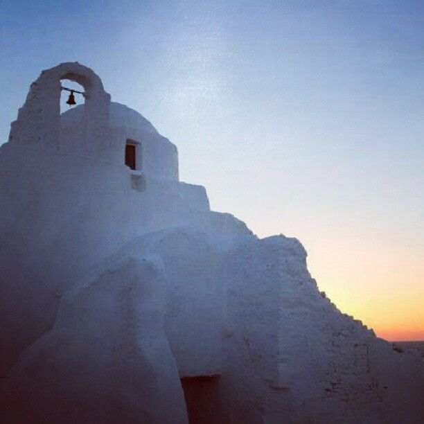 sunset in greece instagram pic