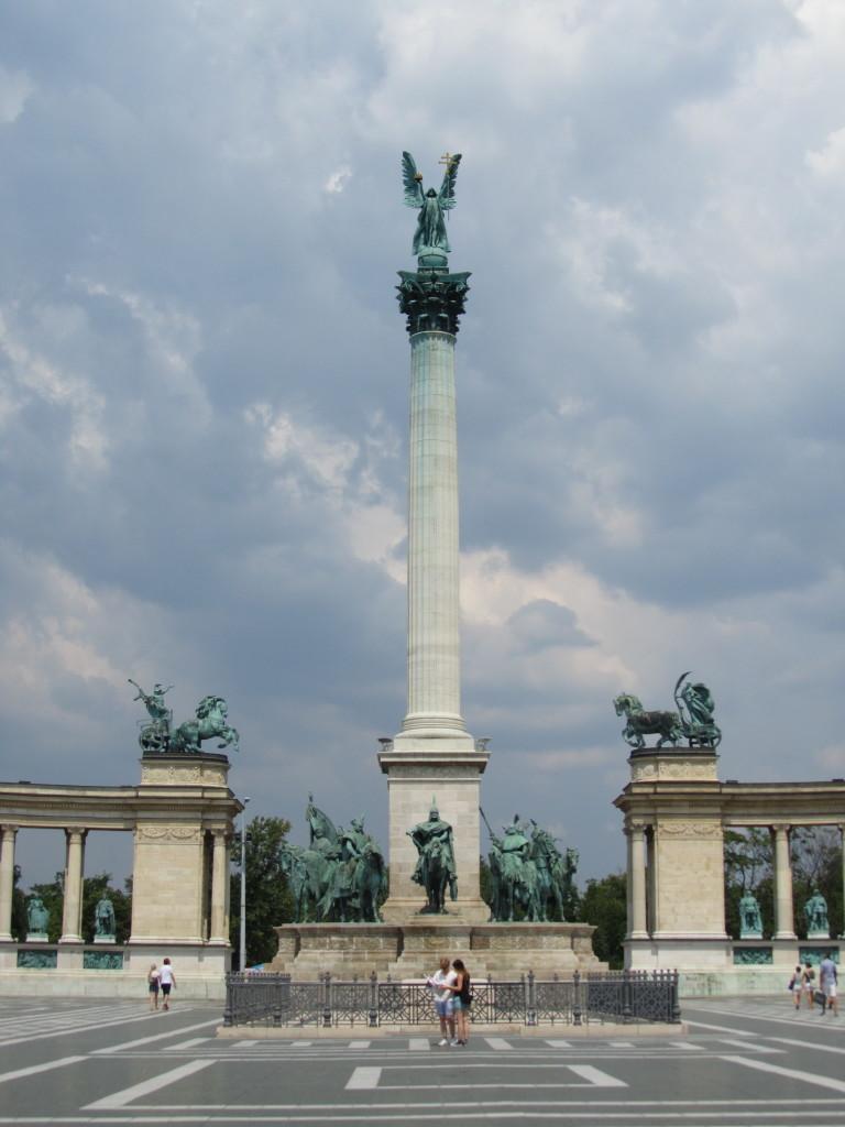 Millennium Memorial Budapest Heroes Square