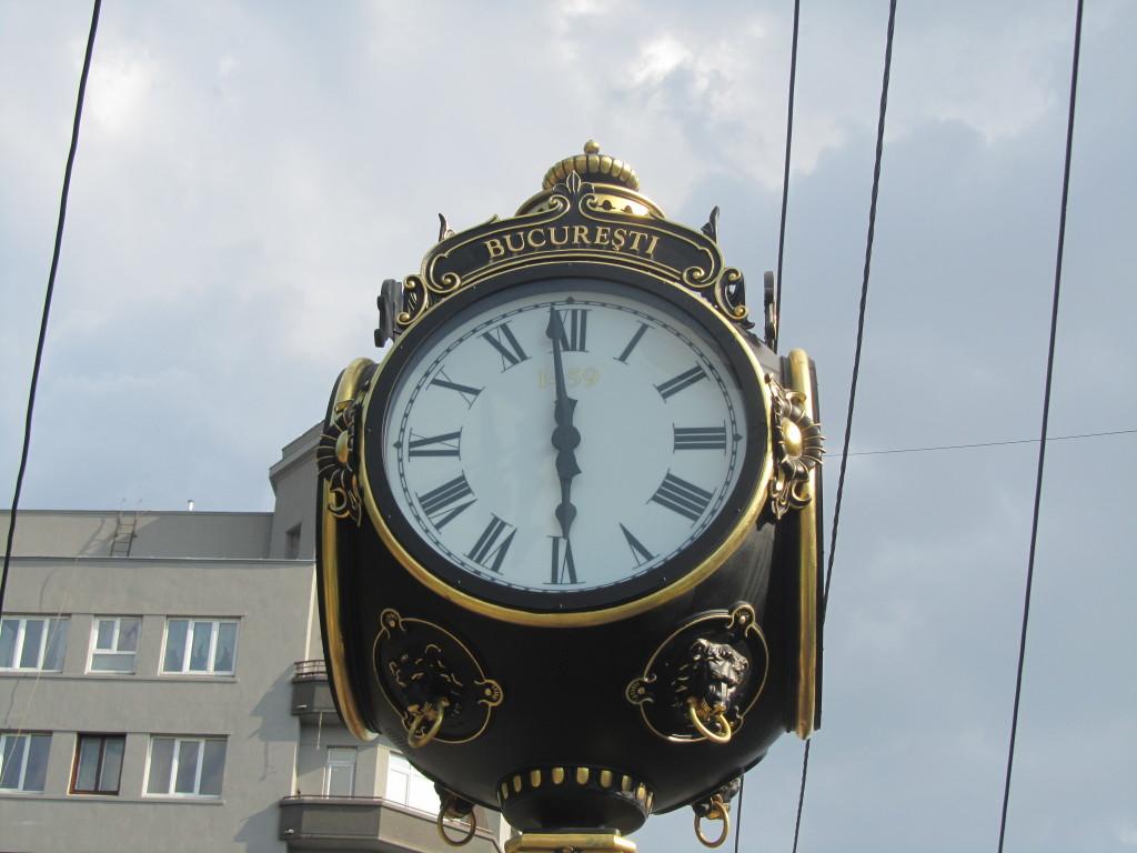 bucharest clock