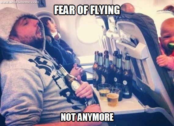 fear of flying meme