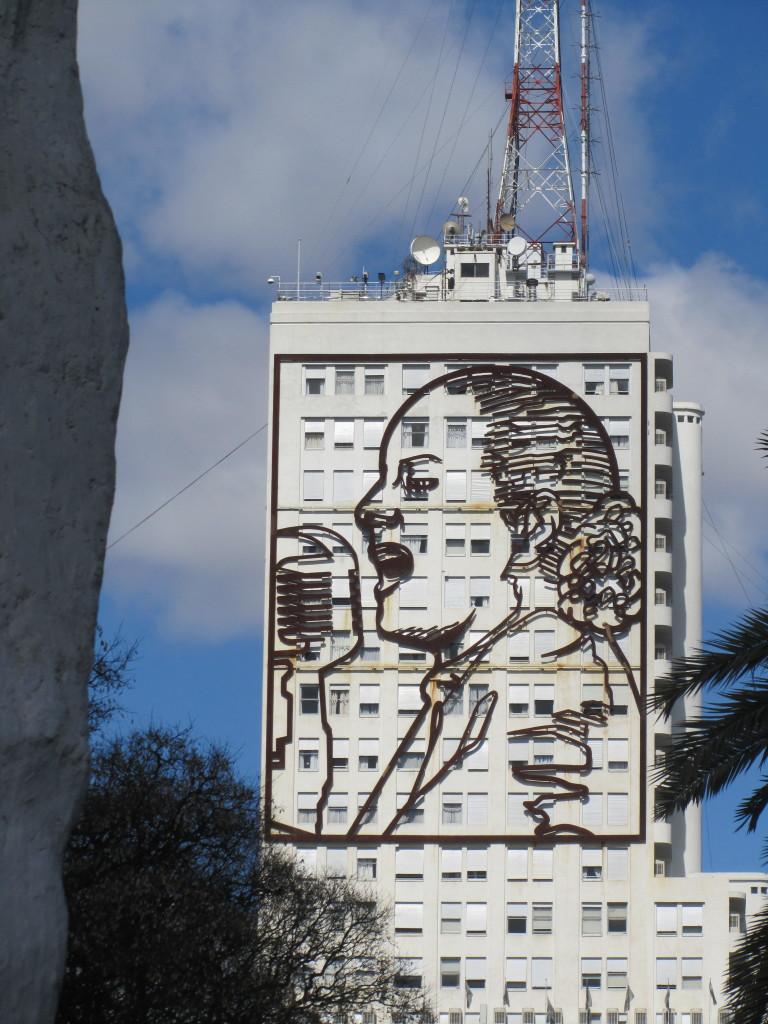 Eva Peron Building Buenos Aires