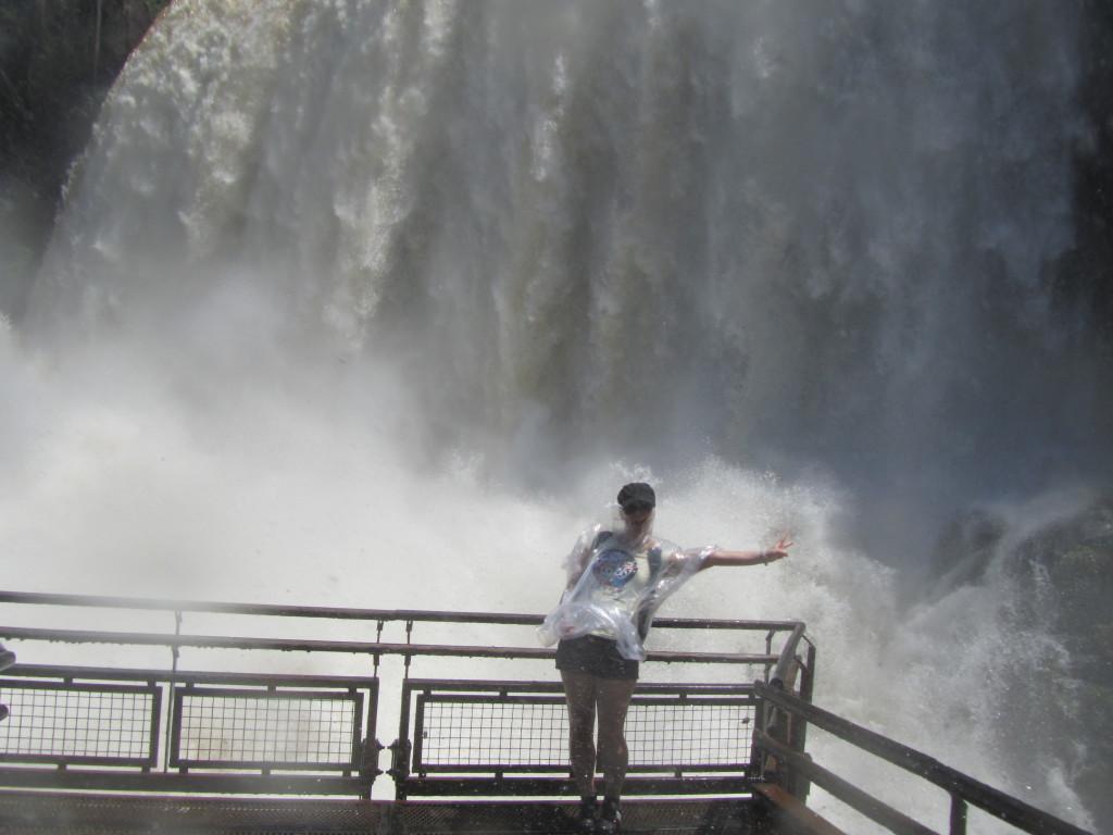 Argentina Iguazu Waterfall Up Close
