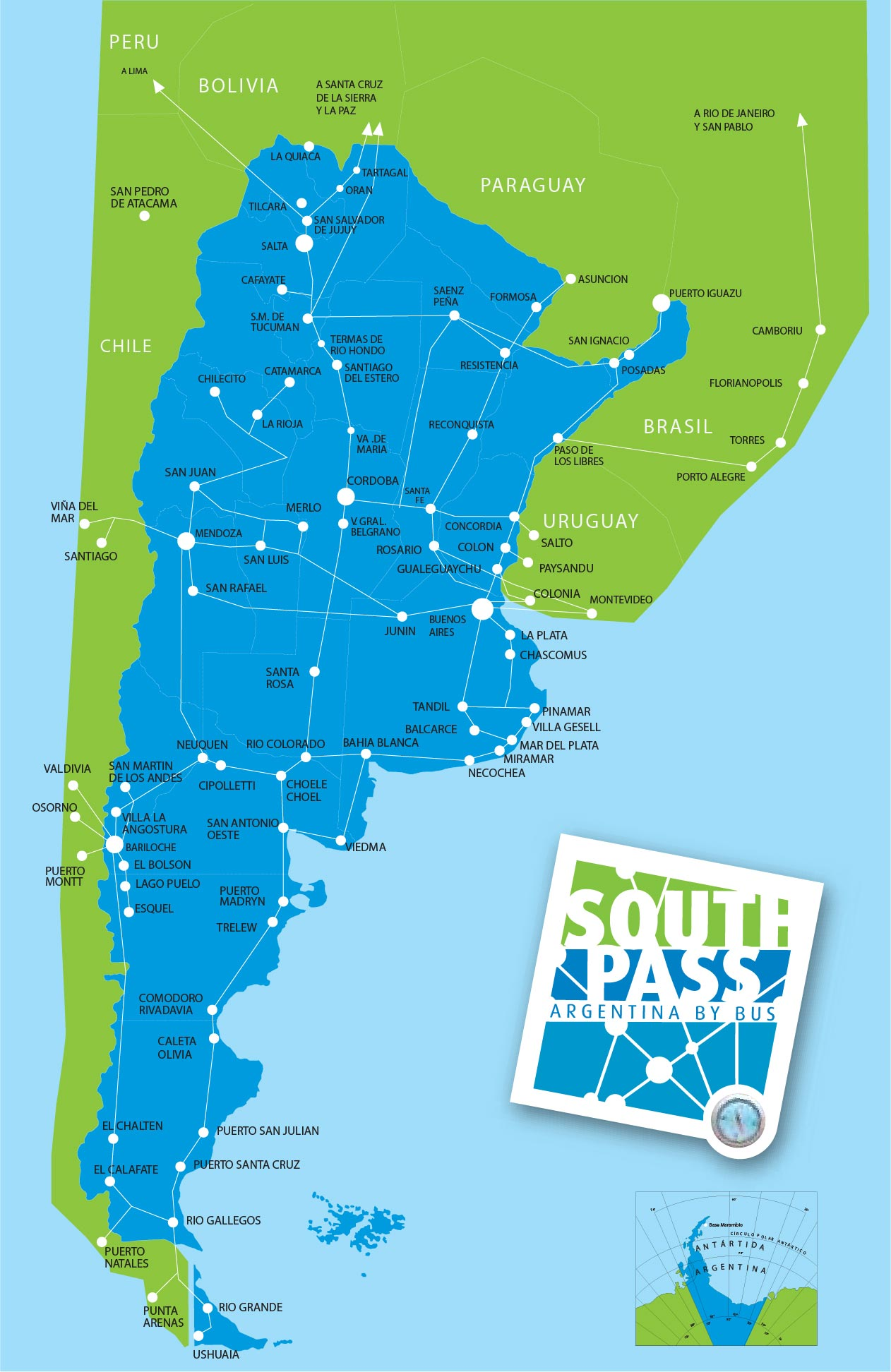 Is It Worth Buying The South Pass For Argentina Runaway Jane - Argentina rail network map