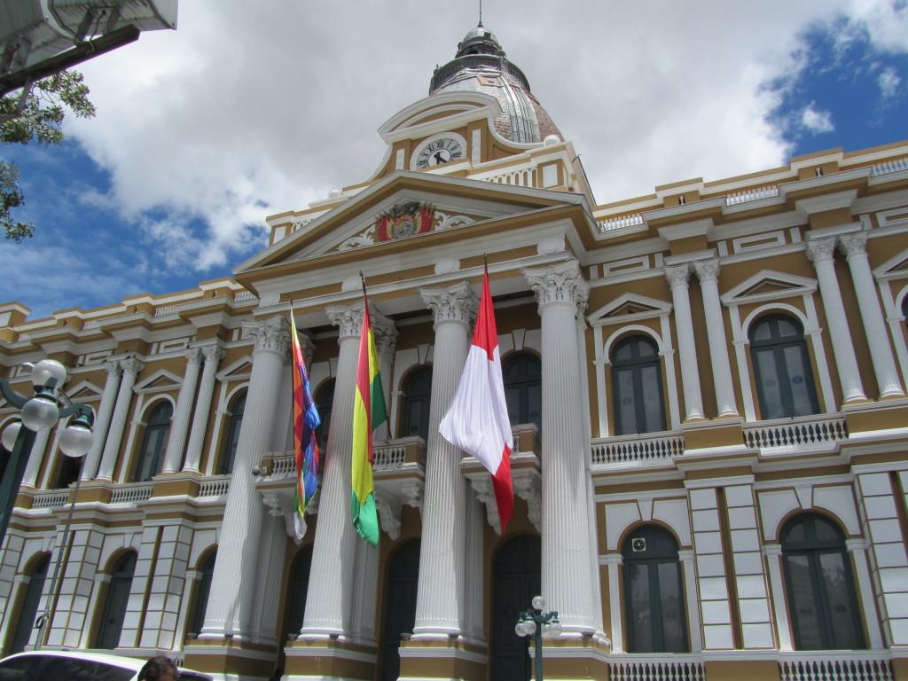 Presidential Palaca La Paz Bolivia