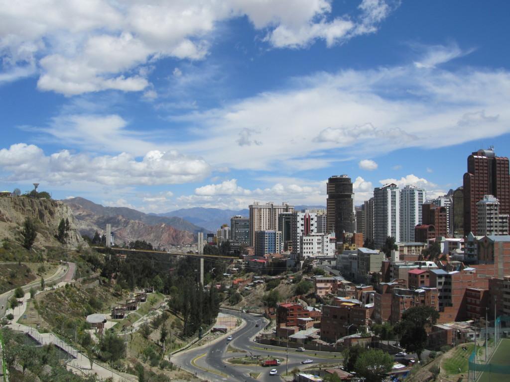 La Paz Cityscape Bolivia