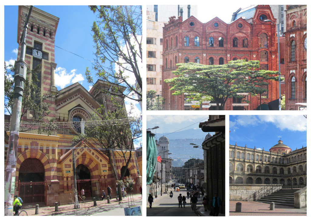 buildings of bogota