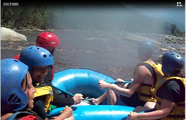white water rafting ecuador