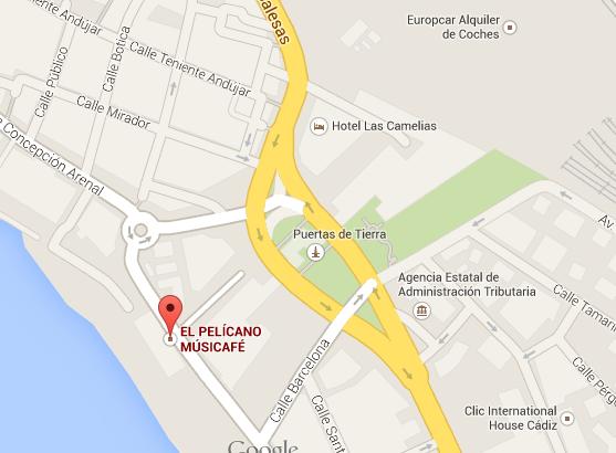 el-pelicano-bar-cadiz-map