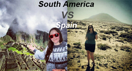 South America versus Spain pic