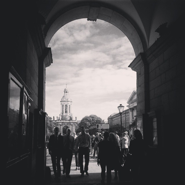 trinity college dublin by runaway jane