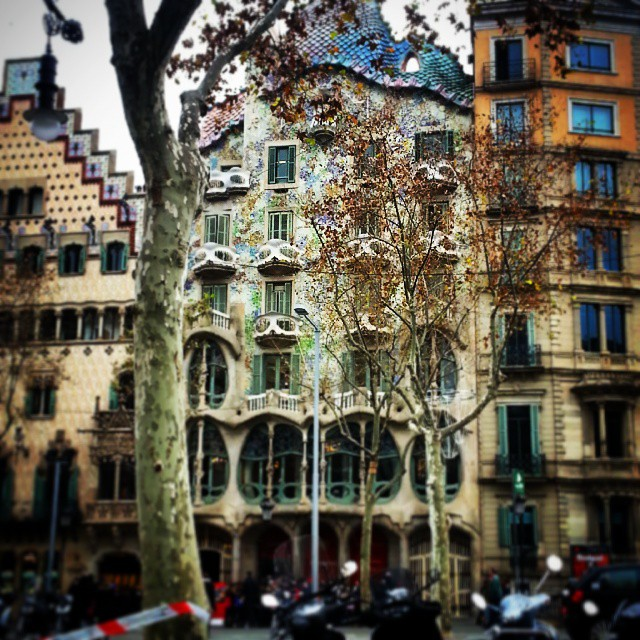 Casa Batllo Barcelona by Runaway Jane