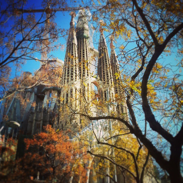 sagrada familia by runaway jane
