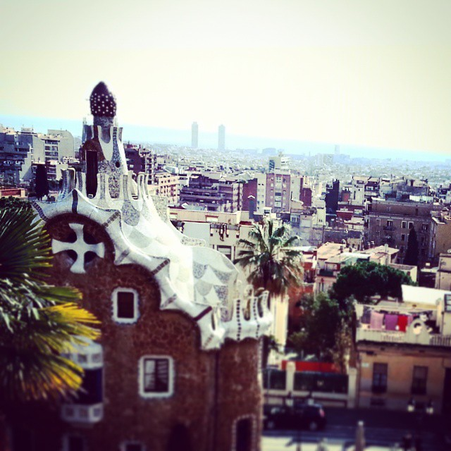 park guell view by runaway jane
